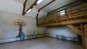 salle d'activités, salle de réception
