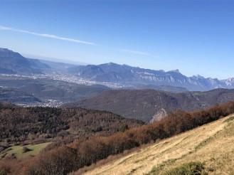 Vue sur Grenoble du Grand Serre